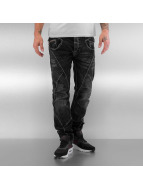 Cipo & Baxx Straight Fit Jeans Sigar black