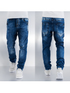 Cipo & Baxx Straight Fit Jeans blau
