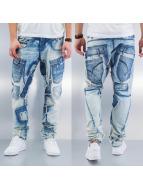 Cipo & Baxx Straight Fit Jeans Ferenc blau