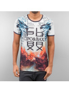 Cipo & Baxx T-Shirt Broken colored