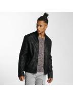Cordon Leather Jacket Luke black