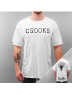 Crooks & Castles T-Shirt weiß