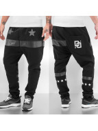 Dangerous DNGRS Sweat Pant White Star black