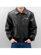 Daven Leather Jacket Shooter black
