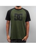 DC T-Shirt Star Raglan olive