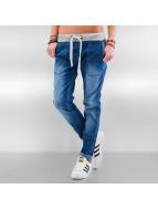 DEF Boyfriend Jeans Rib blue