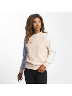 DEF Pullover Colorblocking rose