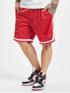 Row Mesh Shorts Red/Whit...