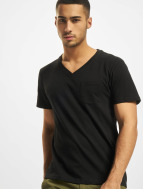 DEF T-Shirt V-Neck black