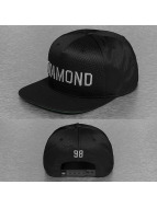 Diamond Snapback Cap Jackson black