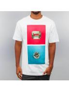 Diamond T-Shirt Emerald Square white