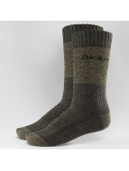 Dickies Croswell 2 Pack Socks Khaki