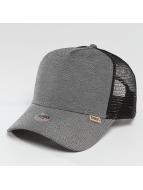 Djinns Trucker Cap Jersey Piqué High Fitted black