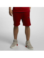 Melange Shorts Red Melan...