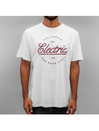 Electric T-Shirt CIRCLE SCRIP white