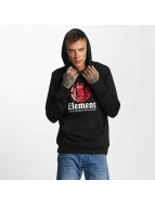 Element Hoodie Vertical black