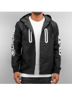 EVISU Lightweight Jacket Multi Logo black