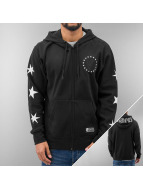 Famous Stars and Straps Zip Hoodie black