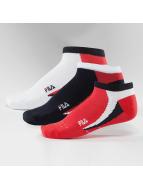 FILA Socks 3-Pack Invisible colored