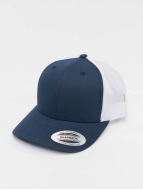 Flexfit Trucker Cap Retro blue