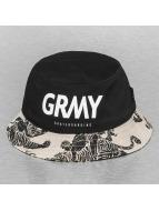 Grimey Wear hoed zwart
