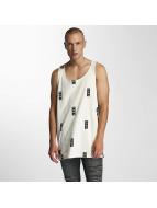 Grimey Wear Tank Tops Stick Up white