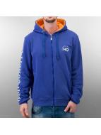HQ Zip Hoodie Decline blue