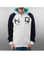 HQ Zip Hoodie California white