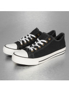 Italy Style Shoes Sneakers Pit black