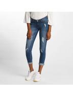 JACQUELINE de YONG Skinny Jeans jdySkinny Low Flora blue