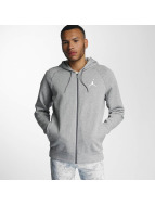 Jordan Zip Hoodie Flight gray