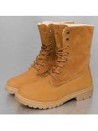 Jumex Boots Winter Fur beige