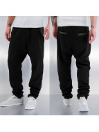 PU Pocket Sweat Pants Bl...
