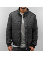 Quilt Winter Jacket Blac...