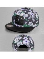 Just Rhyse Snapback Cap Flower black