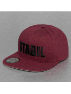 Just Rhyse Snapback Cap Stabil red