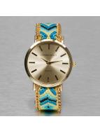 Kaiser Jewelry horloge Textil blauw
