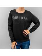 Karl Kani Pullover schwarz