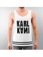 Karl Kani Tank Tops white