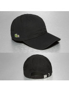 Lacoste Classic Snapback Cap Gabardine Croc Strapback Cap black