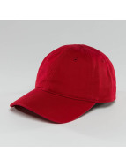 Lacoste Classic Snapback Cap Gabardine Croc red