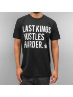 Last Kings T-Shirt Hustle Hard black