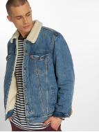 Levi's® Lightweight Jacket Trucker Sherpa blue