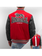 Lonsdale London College Jacket Oxford All Season red