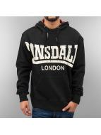 Lonsdale London Hoody schwarz