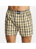 Lousy Livin Boxer Short Check yellow