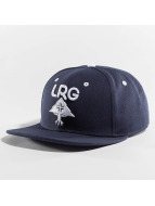 LRG Snapback Cap Research Group blue