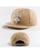 LRG Snapback Cap Research Group khaki