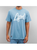 LRG T-Shirt Research Collection Script blue