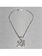 Masterdis Necklace silver colored